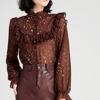 Helly 2 Way Star Print Blouse Discover the latest fashion trends online at storets.com