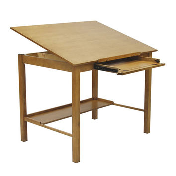 Americana II Drafting Table 36 X 48 (Light Oak) (36.5-54H x 48.00W x 36.00D)