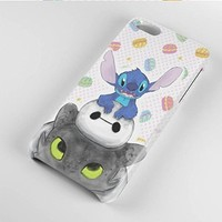 Stitch Baymax and Toothless How to Train Your Dragon for Iphone and Samsung (iPhone 6)
