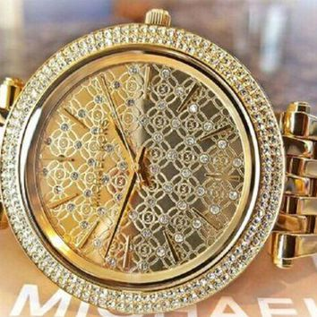 DCCKUG3 Michael kors women watch gold new