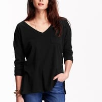 Old Navy V Neck Boyfriend Tee