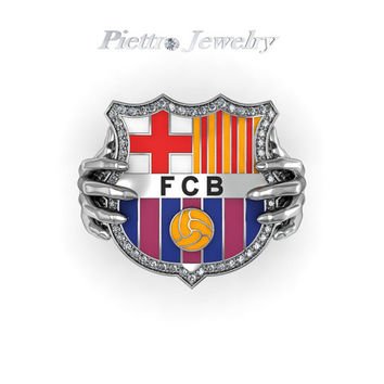 Barcelona Jewelry Fashion Sterling Silver 925 kt. Ring