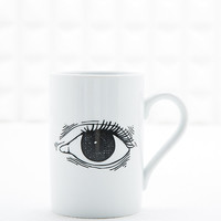 Domestic x +41//DIY Eyes Mug in White - Urban Outfitters
