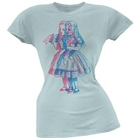 Alice In Wonderland - 3D Drink Me Juniors T-Shirt