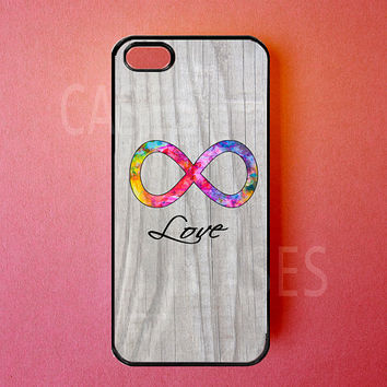 Iphone 5 Case   Infinity Iphone 5 Cover Love Forever by DzinerCase