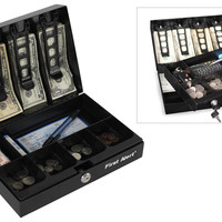 Cash Box W/Key Lock