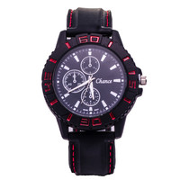 Designer's Good Price Great Deal Trendy New Arrival Awesome Gift Stylish Silicone Men Quartz Watch [6542109635]