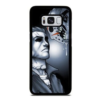 MICHAEL MYERS VS JASON Samsung Galaxy S3 S4 S5 S6 S7 Edge S8 Plus, Note 3 4 5 8 Case Cover