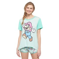 Women's Mario Jumps PJ Set
