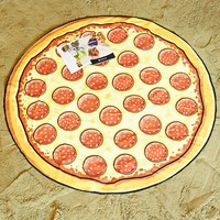 BigMouth Pizza Beach Blanket