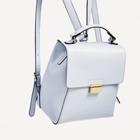 BACKPACK WITH METALLIC FASTENING - View all-BAGS-WOMAN | ZARA United States