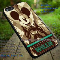 Disney Mickey Mouse Steamboat Willie Art Poster iPhone 6s 6 6s+ 5c 5s Cases Samsung Galaxy s5 s6 Edge+ NOTE 5 4 3 #cartoon #animated #disney #MickeyMouse dt