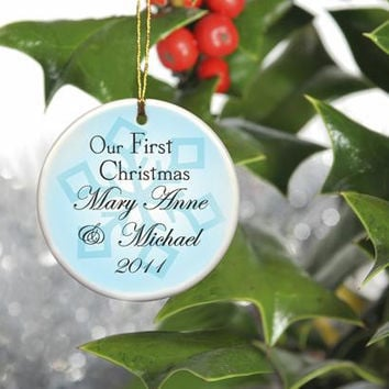 Our First Christmas Ornament Style 8