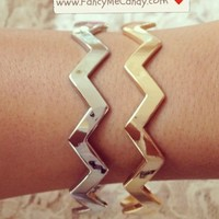Gold/Silver Zig Zags from Fancy Me Candy