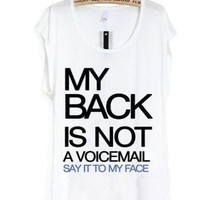 say it to my face-the tee