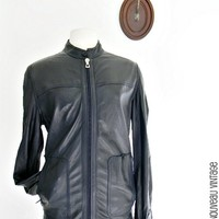 Zilli Luxury leather & suede REVERSIBLE jacket