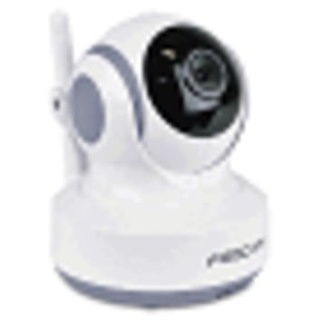 Foscam FBM3501T Single Replacement/Add-On Digital Video Baby Monitor w/Pan/Tilt, Nightvision & Two-Way Audio (White)