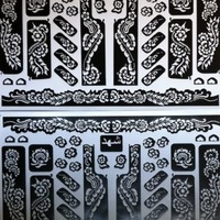 SHEET HENNA STICKERS TATTOO BODYART MEHNDI STENCIL