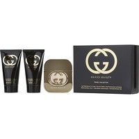 GUCCI GUILTY by Gucci EDT SPRAY 1.6 OZ & BODY LOTION 1.6 OZ & SHOWER GEL 1.6 OZ (TRAVEL OFFER)