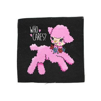 Who Cares? Fabric Patch