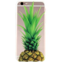 Fruits Pineapple Printed Case for iPhone