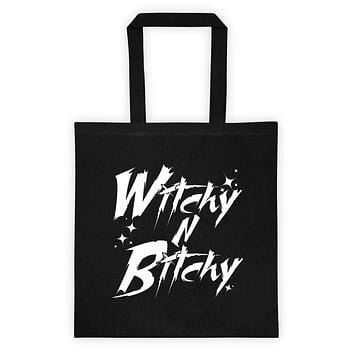 WITCHY N BITCHY Tote bag