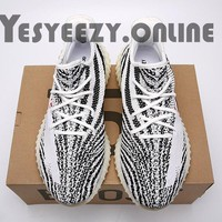 The Best UA Yeezy Boost 350 V2 Zebra SPLY-350 White Red Shoes For Sale Online