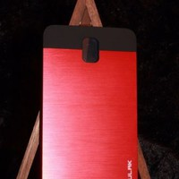 Samsung Note 3 clip on case Red and Black