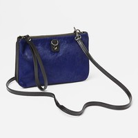 Gap Calf Hair Convertible Crossbody Size One Size - royal
