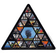 Pink Floyd - Triangle Bumper Sticker on Sale for $2.99 at HippieShop.com