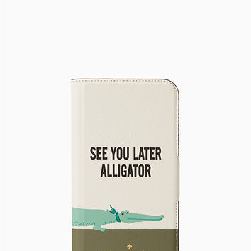 see you later folio iphone x case | Kate Spade New York