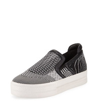 Jeday Knit Skate Sneaker, Marble/Black