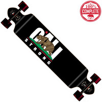 """CALI Strong Longboard Double Drop Through Complete 9"""" x 41"""""""