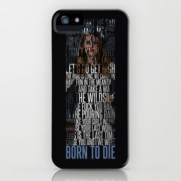 Born To Die by Del Rey Lana iPhone & iPod Case by Marvin Fly