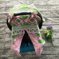 2016 new free shipping baby Car Seat Canopy cover infant Car Seat Canopy children Aztec Car Seat carseat cover baby canopies