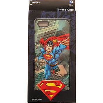 Licensed cool DC  SUPERMAN hero Holographic Hardshell Thin Case Cover FITS  iPhone 4/4S