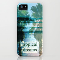 Tropical Dreams iPhone & iPod Case by Shawn King