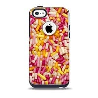 Orange and Pink Candy Sprinkles Skin for the iPhone 5c OtterBox Commuter Case
