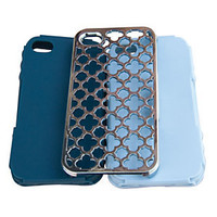 Tech Candy iPhone 4/4S Metal Effects Barcelona Jet Set Case Set 					 					 				 			 | Dillard's Mobile