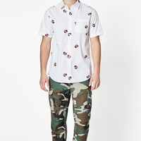 PacSun Pretty Bud Short Sleeve Button Up Shirt at PacSun.com