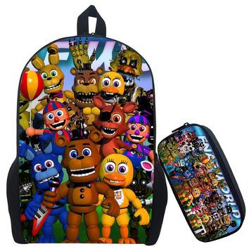 17Inch Kids  at Backpack Children Schoolbags For Teenagers Boys&Girls School Book Bag Kids
