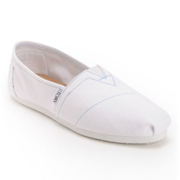 Toms Classics Canvas White Women's Shoe