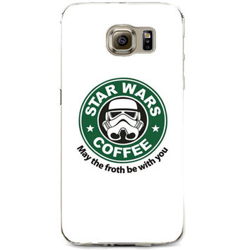 """Starbucks Star Wars """"May The Froth Be With You"""" for Samsung Galaxy S7"""