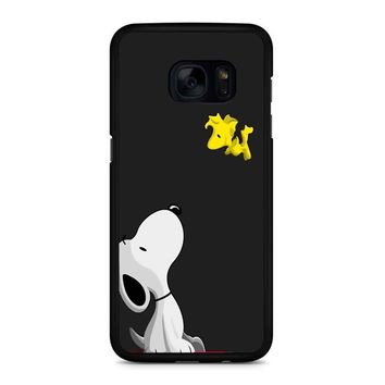 Snoopy And Woodstock Samsung Galaxy S7 Edge