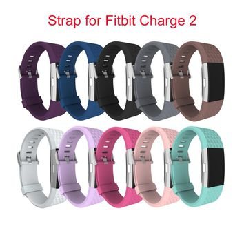 Diamond Silicone Replacement Straps for Fitbit Charge 2