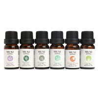 6Pcs/set 100% Pure Natural Essential Oils Humidifier Aromatherapy Fragrance Cleansing Skin Relieve Tired And Headache