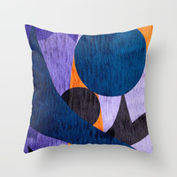 Masked Ball II Throw Pillow by artdekay880