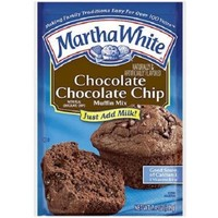 Martha White Muffin Mix Chocolate Chocolate Chip, 7.4 oz - Walmart.com