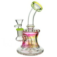 Water Pipe + Stemless + Diffuser + Bent Neck + Color