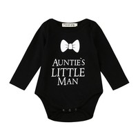 Baby Boy Print One-Piece Bodysuit